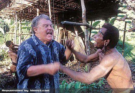 عکس های تنها قبیله ی باقی مانده آدم خوار (16+)