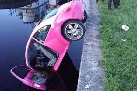 مضحک و جالب ترین حوادث رانندگی (عکس)