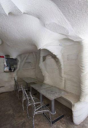 رستوران نمکی و جالب با طعم نمک در شیراز (عکس)
