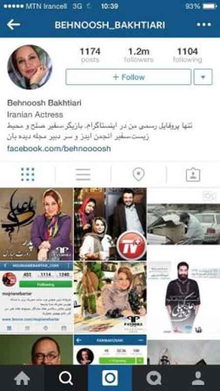 بازیگرانی که بیشترین دنبال کننده را در اینستاگرام دارند (عکس)