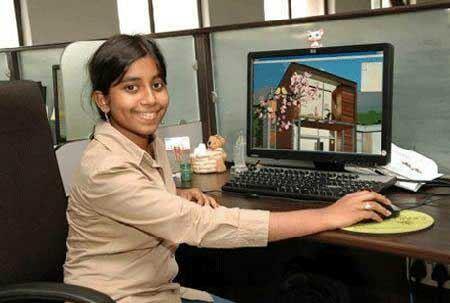 این دختر جوان ترین مدیر عامل دنیا انتخاب شد (عکس)