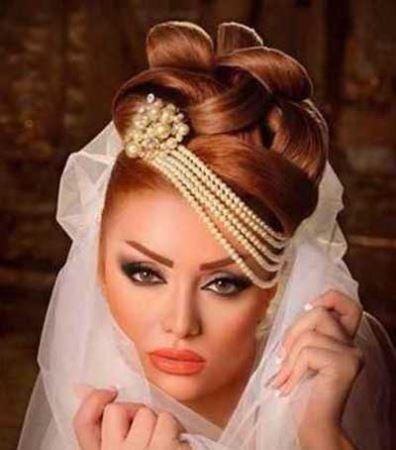 جدیدترین مدل شینیون و آرایش عروس
