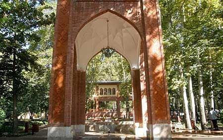 زیباترین باغ ایران در تهران (عکس)