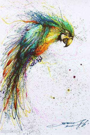زیباترین نقاشی های آشفته و تحسین برانگیز