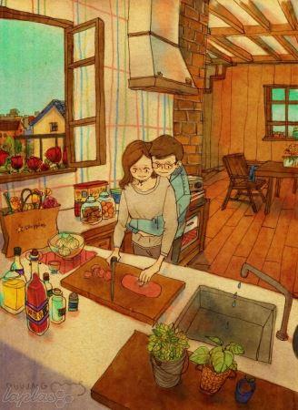این لحظات کوتاه زندگی، همان عشق است (عکس)