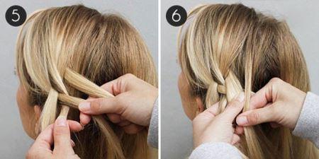 آموزش تصویری بستن یک مدل موی شیک و زیبا