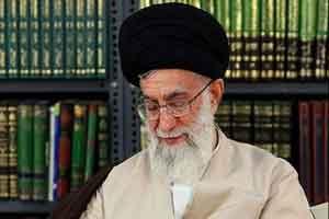 شیوه جالب احوالپرسی رهبر معظم انقلاب (عکس)
