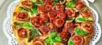 دستور تهیه نان سینی گل رز برای روز عشق