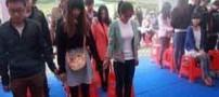 اقدام باورنکردنی دختر چینی همه را بهت زده کرد (عکس)