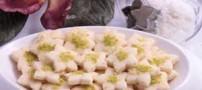 دستور تهیه شیرینی نارگیلی با آرد