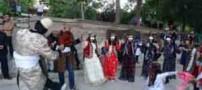 جشن گُلونی در خرمآباد با رقص مختلط زن و مرد (عکس)