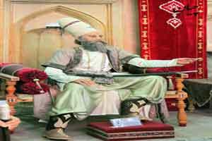 قلیان کریم خان زند و درویش، داستانک