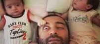 گفتگویی داغ با مجید صالحی و دوقلوهایش