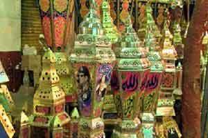 سنت جالب روشن کردن فانوس رمضان
