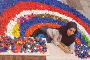 زندگی عجیب دختر ایرانی در بطری پلاستیکی (عکس)