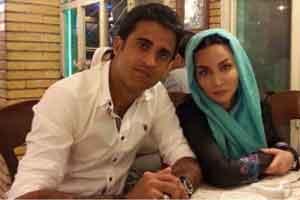 جدیدترین عکس های ازدواج فقیهه سلطانی با فوتبالیست اصفهانی