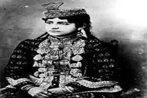 عکس دیدنی دختران بالای شهری و پولدار دوره قاجار