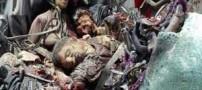 انتشار بدون سانسور وحشتناک ترین تصادف در ایران (عکس)
