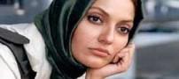 غوغای شال عجیب و غریب مهناز افشار با طرحِ (عکس)