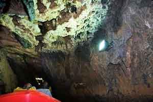 طولانیترین غار آبی دنیا در ایران (عکس)