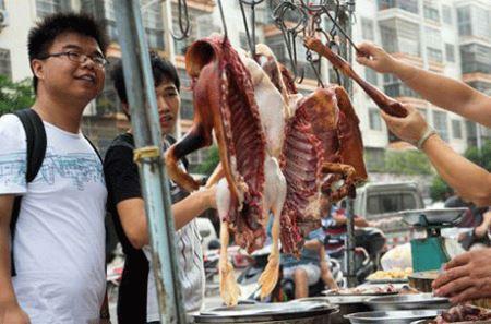 (18-) جشنواره خوردن گوشت سگ و گربه! عکس