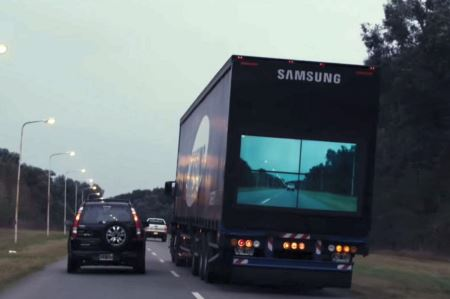 ابتکار جالب برای سبقت گرفتن در بزرگراه ها (عکس)