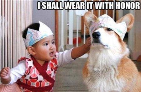 عکس های داغ و خنده دار از کودکان بامزه