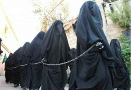 حرمسرای ابوبکر بغدادی خلیفه داعش با زنان زیبا (عکس)