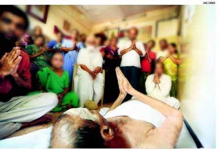 عجیب و خنده دارترین روش روزه داری هندی ها! (عکس)