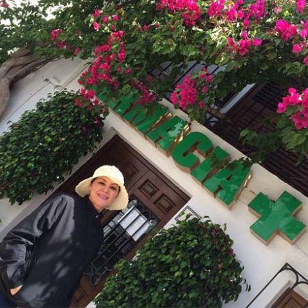 تیپ جالب لاله اسکندری در اسپانیا (عکس)