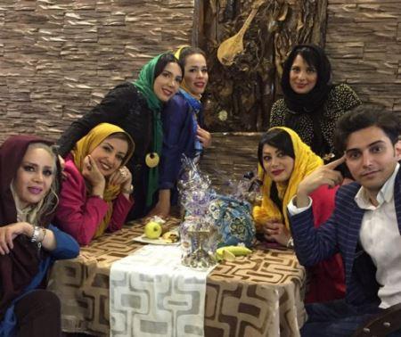 عکسهای جدید روشنک عجمیان در خرداد 94