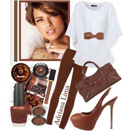 گلچین مدل لباس های شیک خانم ها به سبک آدریانا لیما