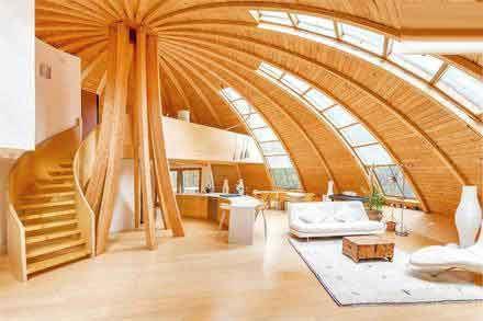 عکس های حیرت انگیز خانه ای که 360 درجه می چرخد!