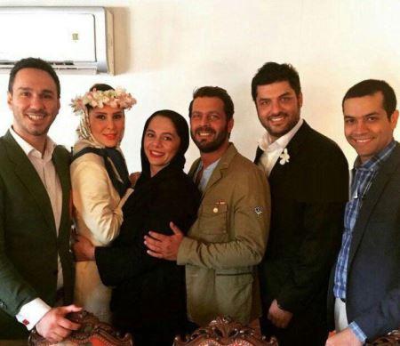 عکس های دیدنی ازدواج سام درخشانی