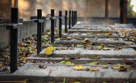 عکس های دیدنی قبرستان مسیحیان در اصفهان