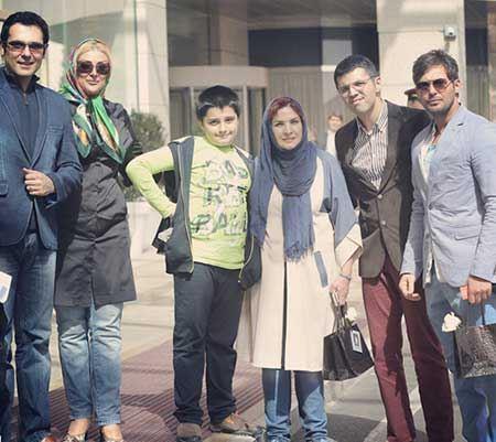 عکس های جدید بازیگران معروف با همسرانشان