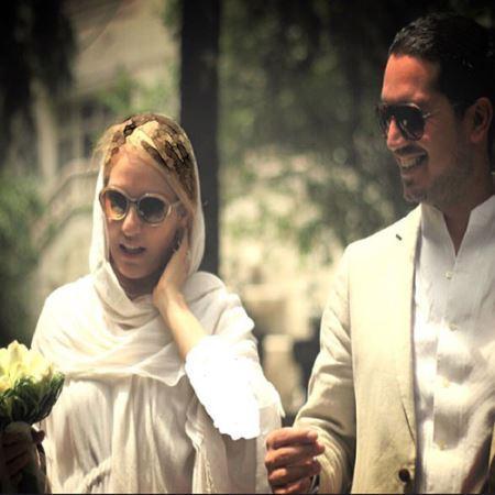 اولین عکس جنجالی از عروسی مهناز افشار (عکس)