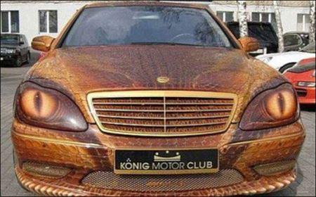 مسخره ترین ماشین های دنیا (عکس)