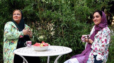مدل شدن دو بازیگر زن ایرانی برای یک برند پوشاک (عکس)