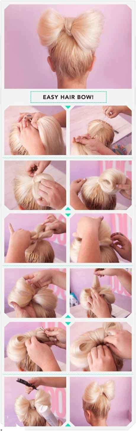 آموزش تصویری مدل موی پاپیونی شیک