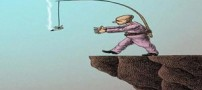 کاریکاتورهای اعتیاد به مواد مخدر