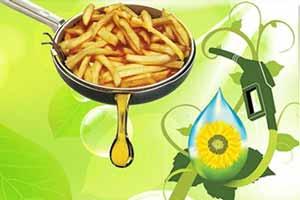 تبدیل روغن خوراکی به سوخت پاک!!