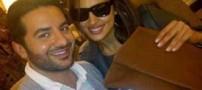 نامزدی همسر سابق کریس رونالدو با علی کاووسی (عکس)