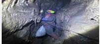 بازی با مرگ در خطرناک ترین غار ایران (عکس)