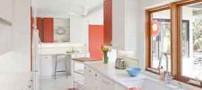 مدل چیدمان و دکوراسیون آشپزخانه های سفید