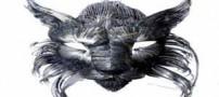 عکس های زیبا از ماسک های فلزی دست ساز !