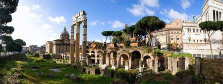 عکس های معماری باشکوه و دیدنی روم باستان