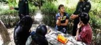 عکس هایی از برخورد پلیس با روزه خواران در تهران