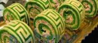 طرز تهیه رولت کوکو سبزی غذای شیک و مجلسی