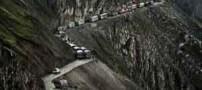 هولناک و مرگبارترین جاده در جهان (عکس)